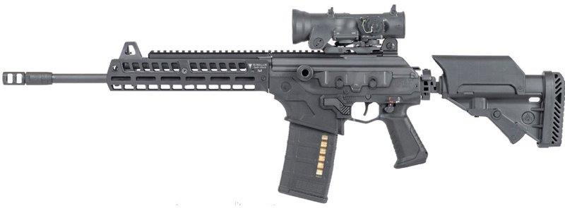 GAR-10M-N Galil Ace Rifle MLOK Rail